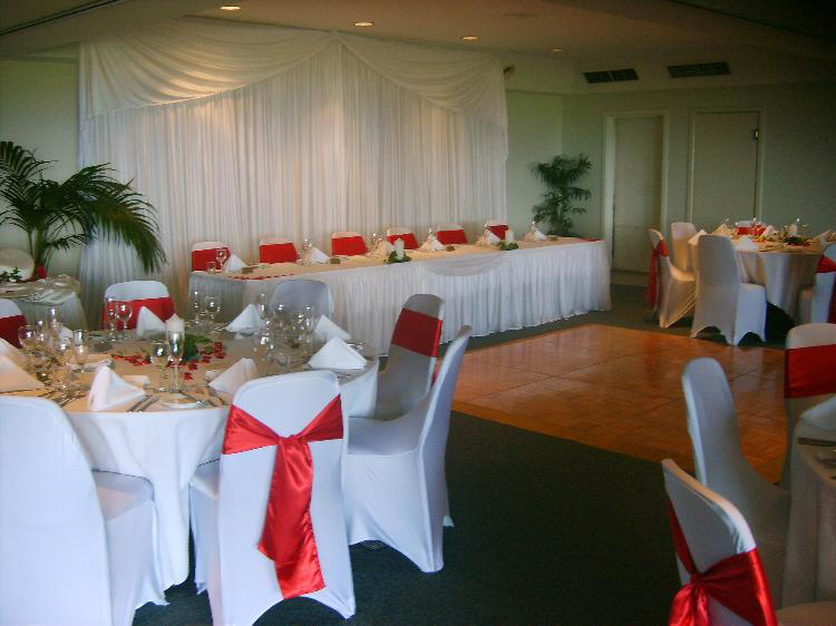Rcp 2 decorated wedding reception examples red satin