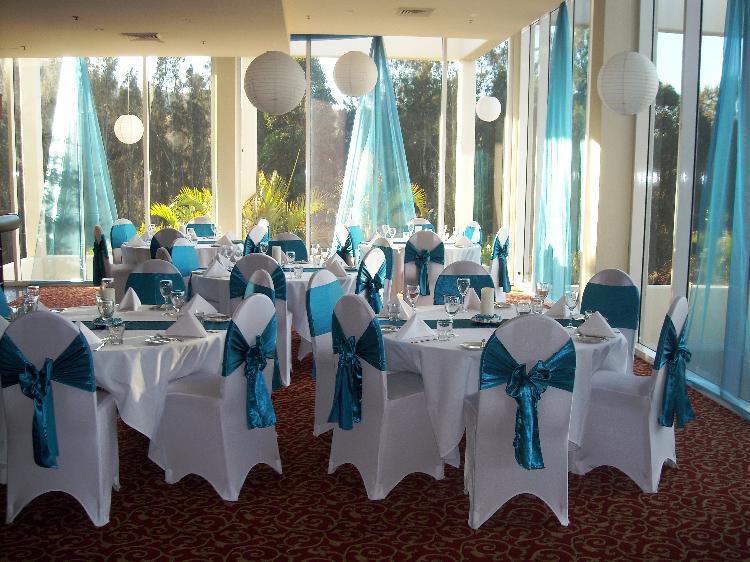 Rcp 13 Decorated Wedding Reception Examples Blue Satin