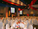 FUN.3 Decorated Function Theme Example - Three Flags - Red, White & Blue