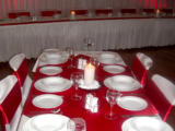 CBH.3 Cavenbah Hall - Red Satin Table Setting