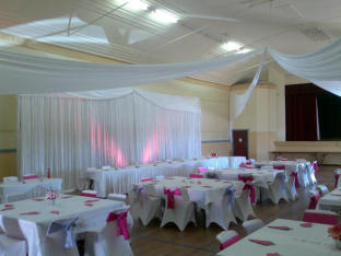 Dorrigo Community Centre - Wedding Cerise & Silver