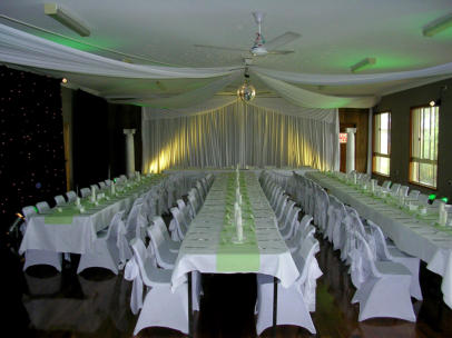 MYL.1 Apple Green Wedding Reception - Mylstrom Hall - Mystrom NSW