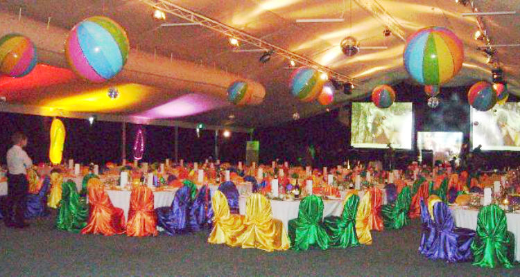 Exciting and innovative decorative themes for dinners, parties